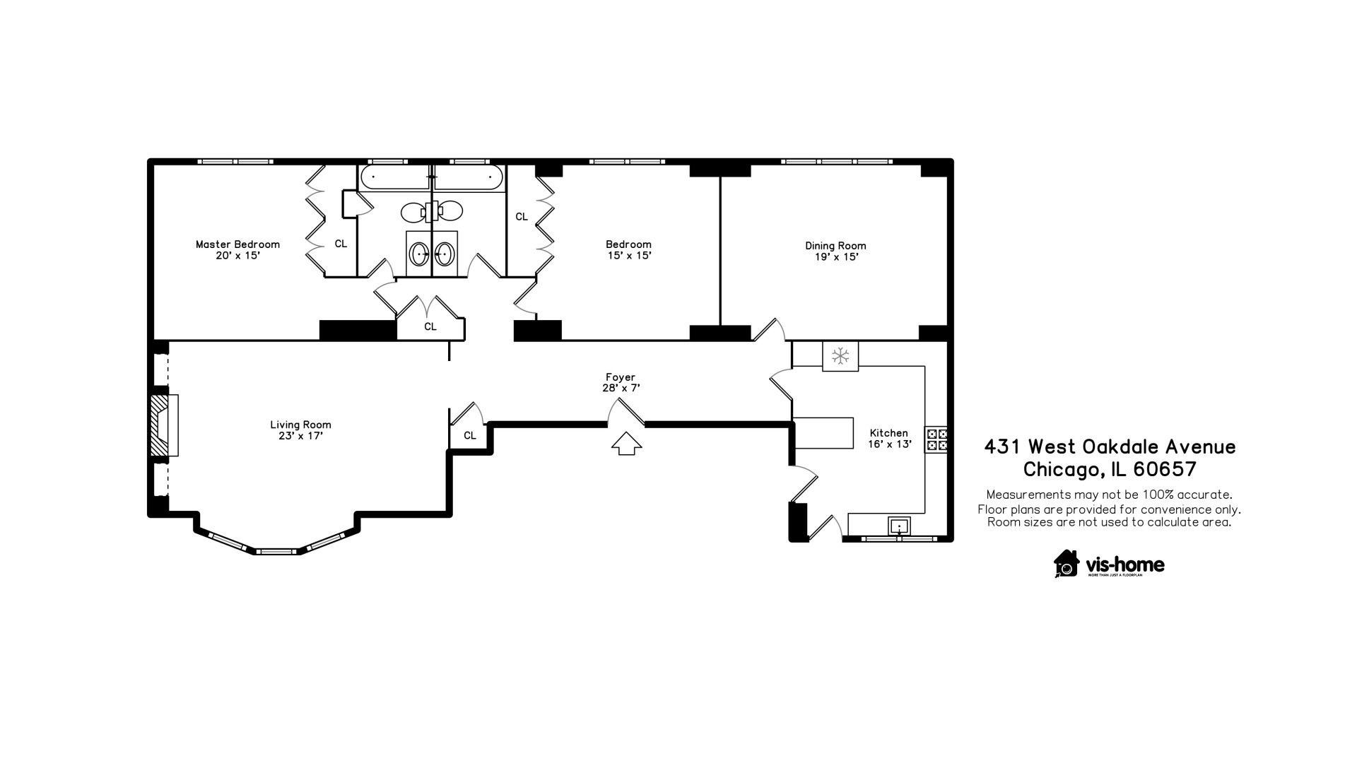 431 W Oakdale Avenue 3D