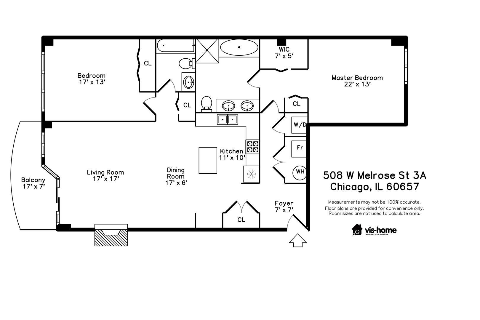 508 W Melrose Street 3A