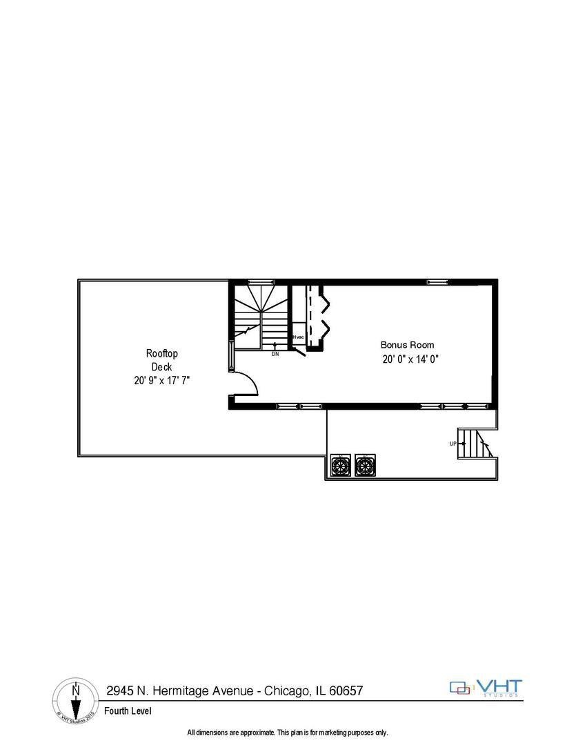 2945 N Hermitage Avenue A