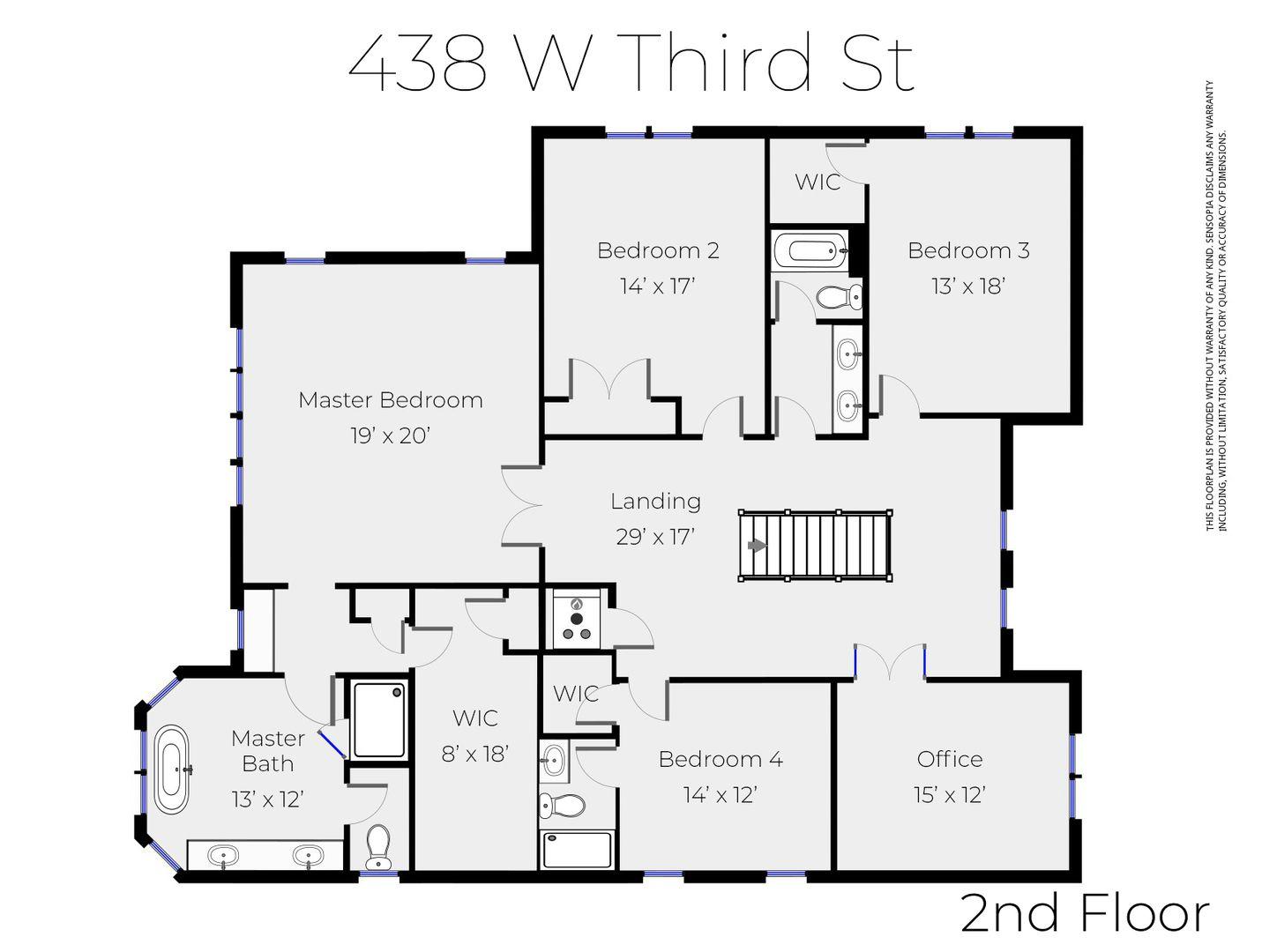 438 W 3rd Street