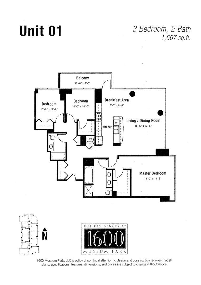 1629 S Prairie Avenue 1401