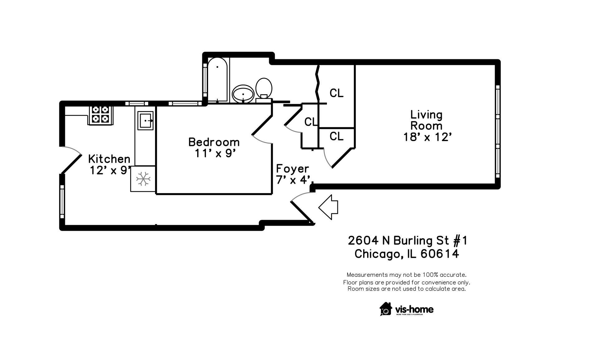 2604 N Burling Street 1