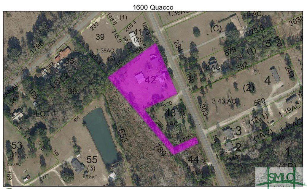 1600-1601 Quacco Road